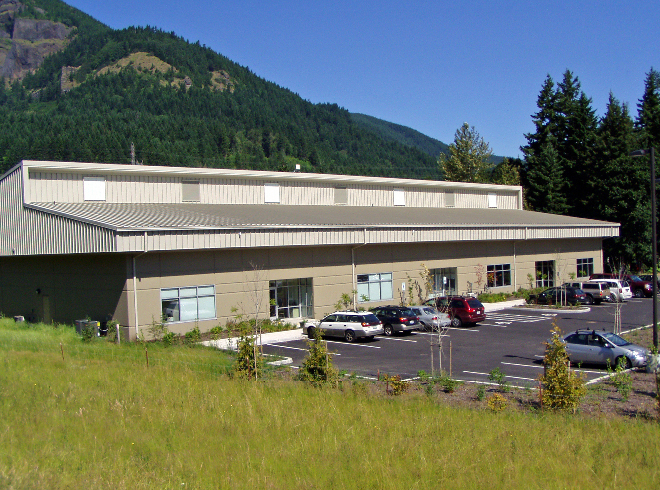 Port of Skamania Teitzel Building 1